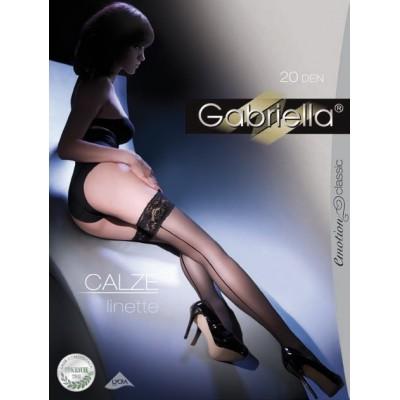 Gabriella CALZE LINETTE 20 DEN with back seam
