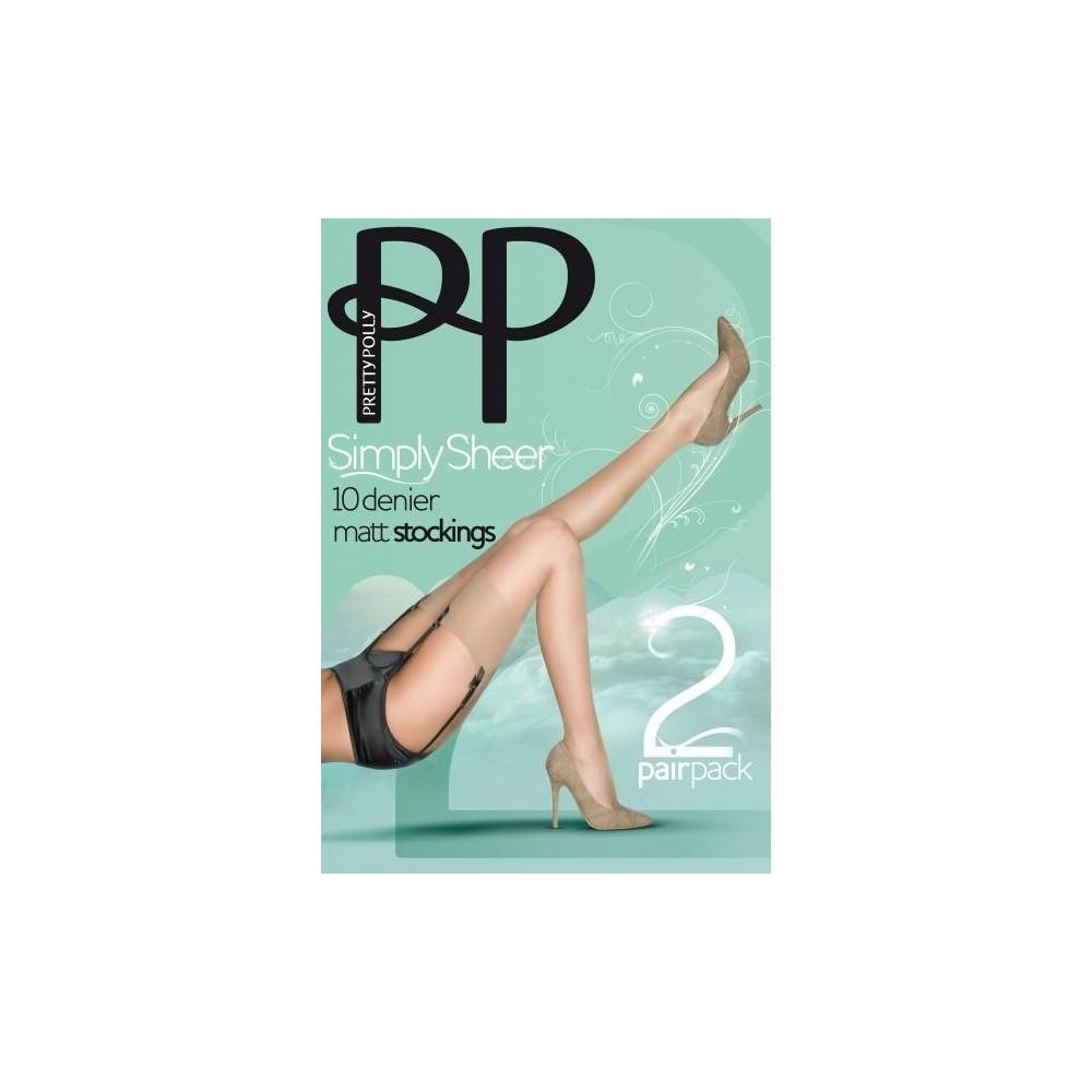 Pretty Polly Calze Simply Sheer 10D