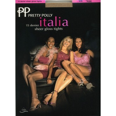 Pretty Polly Collant Italia lucido 15dn