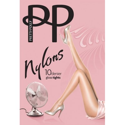 Pretty Polly Collant Nylon Gloss 10dn