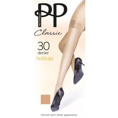 Pretty Polly Calza Autoreggente Classic 30D